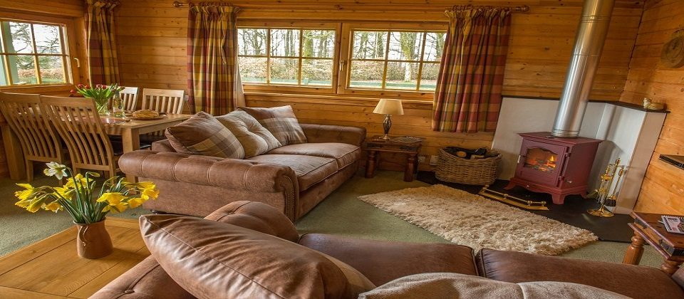 Unique Luxury Lodge With Central Heating Log Fire And WIFI