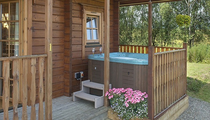 Trossachs Luxury Lodges with Hot Tubs
