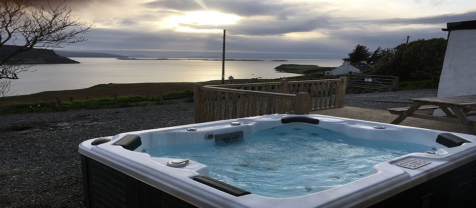 Isle of Skye Luxury Sea View Cottage