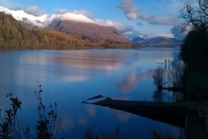 Loch Awe Lochside Lodges Sauna and free Fishing