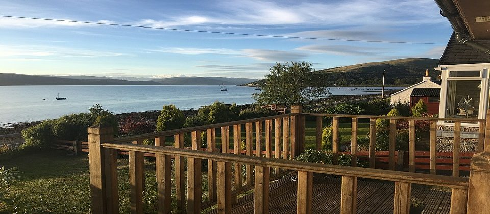 Loch Fyne Lochside Cottage Loch Views Log Fire