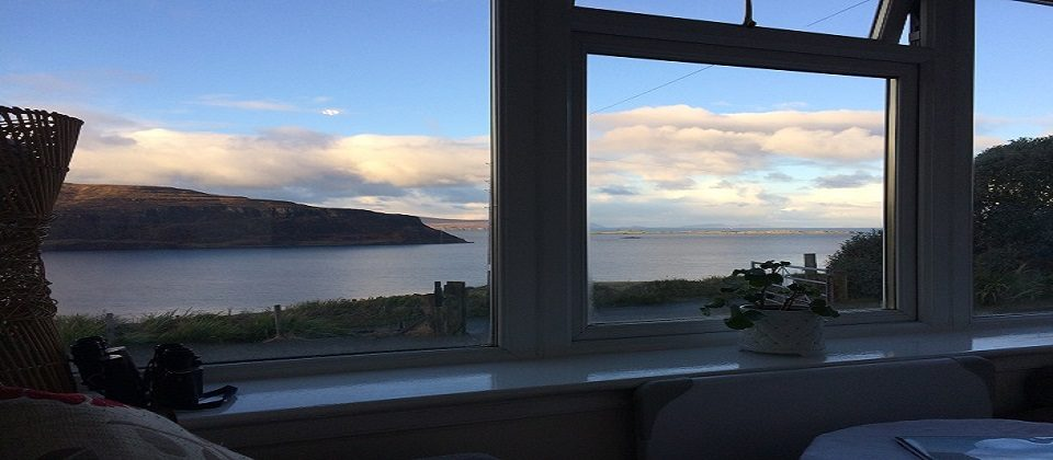 Isle of Skye Luxury Cottage Sea Views Log Fire